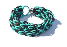 Funky and Stretchy Rainbow Loom Bracelet by GeorgiaPeachProducts, $6.00