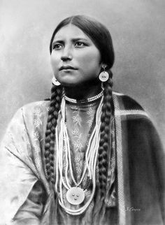 Lakota Maiden by steeelll, via Flickr