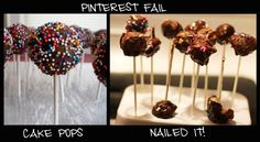 exactly what happened to mine! so pissed Pinterest Fails, Pinterest Projects, Fail Nails, Pissed, Bye Bye, Just For Laughs, Laugh Out Loud, Cake Pops, True Stories