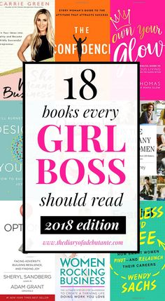 18 of the best business books for women to read in 2018 | Books for girlbosses 2018 | Reading list for young entrepreneurs | 18 Books All Girlbosses Should Read in 2018 by actuarial scientist-turned-fashion blogger Stephanie Ziajka from Diary of a Debutante #watchesforwomen