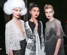 Naeem Khan Fall/Winter 2015 Trunkshow Backstage on Moda Operandi
