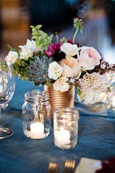 passionate plum and bronze wedding palette // bridesofadelaide.com.au