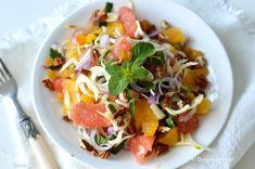 Venkelsalade met sinaasappel en grapefruit