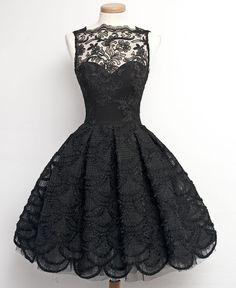 short prom dress, black prom dress, lace prom dress, junior prom dress, elegant prom dress, cheap prom dress, homecoming dress, PD15447