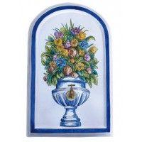 Placa flores Licence Plates, Flowers, Tiles