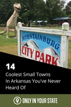 It's time for a day trip to one of the coolest small towns in Arkansas! This list is full of eclectic and just plain cool towns that are worthy of some tourist attraction! See one-of-kind buildings and restaurants or gorgeous scenery that will make you fall in love with small town living. Bucket List Destinations, Travel Destinations, Best Bucket List, Hidden Beach, Swimming Holes, Park City, Natural Wonders, Day Trip, Small Towns