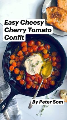 Veggie Recipes, Autumn Food Recipes, Vegetarian Recipes, Cooking Recipes, Healthy Recipes, Yummy Appetizers, Appetizer Recipes, Slow Roasted Tomatoes, Cookout Food