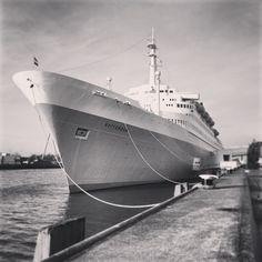 Arrived at SS Rotterdam. Photo: @Afrex