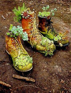 Succulent Boots.