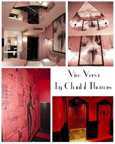 L'hôtel Vice Versa et ses 7 péchés capitaux by Chantal Thomass. Sur www.sevedeco.com