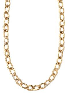 Silver or Gold Chain & Link Necklace   Christina Link Necklace   Stella & Dot