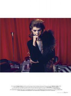 Elle magazine Twin Peaks photo shoot (10)