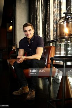Dave Franco poses during a photoshoot at the GT hotel