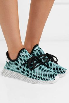 check out 4d802 bad8b adidas Deerupt Runner Parley Shoes on feet. Adidas Originals, Adidas Cipők,  Ékszerek,
