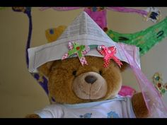 #Song for #kids about a Paper #Hat: making paper hat, singing similar sounds hat, head. Having FUN!