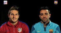 Champions | Koke & Xavi analizan la eliminatoria. | FC Barcelona vs Atlético de Madrid.
