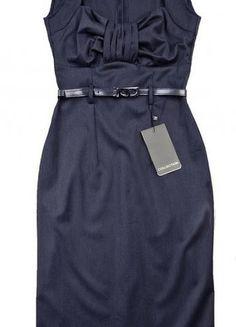 Kup mój przedmiot na #vintedpl http://www.vinted.pl/damska-odziez/inne/7671419-granatowa-sukienka-navy-olowkowa-36