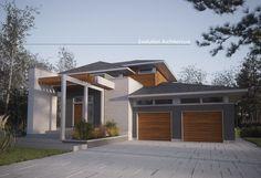 Evolution Architecture inc, maison contemporaine, création exclusive E-900