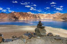 Leh Ladakh in pictures. Pangong Tso Your heart would skip a beat or two at the first sight of Pangong Tso. No trip to Leh Ladakh is complete without a night's camping by its side.