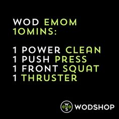 workout of the day: WOD #fitness #exercise #workout #crossfit