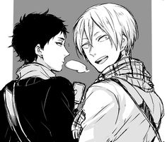 Akaashi & Konoha | Haikyuu!!