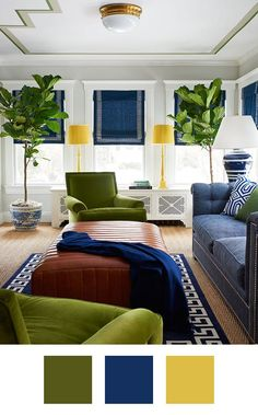 Awesome Color Palettes to Try if You Love The Color Green