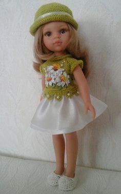 Цветы и бабочка. Новые наряды для кукол. / Одежда и обувь для кукол - своими руками и не только / Бэйбики. Куклы фото. Одежда для кукол
