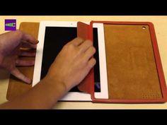 """[Review] KAVAJ Ledertasche Case """"Berlin"""" für das neue Apple iPad (3. Generation)"""
