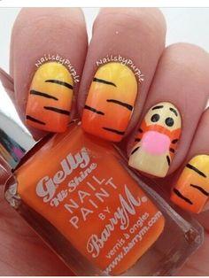 Tijgertje nagel