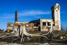 Ruinas de Epecuén.