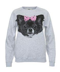 Chihauhau Bow Sweater