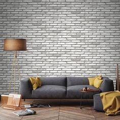 Pink Wallpaper Roll, Kids Room Wallpaper, Striped Wallpaper, Kids Wall Murals, Stone Wallpaper, Brick And Stone, Pink Design, Paper Dimensions, Designer Wallpaper