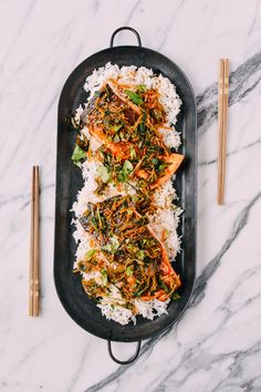 For as long as I can remember, most special occasions and big gatherings in our family have been celebrated with a whole steamed fish: Chinese New Year's Eve dinners, birthdays for grandparents, and big family dinners around holiday times; they've always included a whole steamed fish with ginger, scallion, cilantro and a simple and delicious …