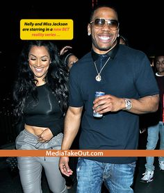 Nelly Really WIFE'D UP That Chick . . . That FLOYD MAYWEATHER DUMPED . . . And He's Doing A REALITY SHOW With Her!!!