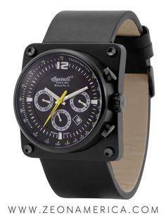 Ingersoll Bison No 43 Automatic Black Ingersoll Watches, Modern Watches, Automatic Watches For Men, Best Watch Brands, Online Watch Store, Mechanical Watch, Jewelry Watches, Watches Usa, Smart Watch