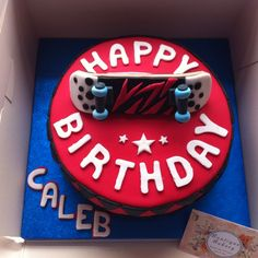 Boutique Bakery design and make quality cakes and cupcakes for all occasions including birthdays, weddings, graduation, corporate events and parties. Boys 18th Birthday Cake, Hubby Birthday, Roller Skate Cake, Skateboard Party, Cake Tasting, Dream Cake, Cake Decorating Tips, Cakes For Boys, Pretty Cakes