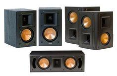 Klipsch Reference 5.0 Surround Sound Speaker Package