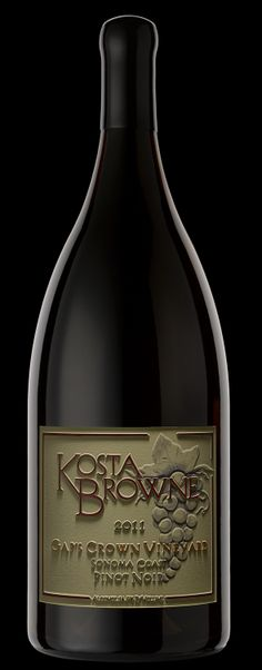 Kosta Browne Pinot Noir by Etched Images