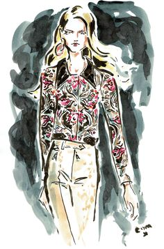 "clymdraws: ""Louis Vuitton SS15 """
