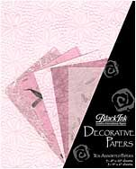 Pretty in Pink - These assorted paper packs from Thailand feature great color combinations, perfect for paper crafting, card making, book arts, collage and m...