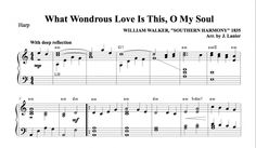$1.50 Harp Music: What Wondrous Love Is This, O My Soul