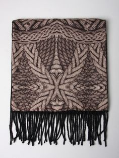 Alexander McQueen Cable Knit Scarf