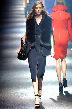 Lanvin Fall 2012 Ready-to-Wear Fashion Show - Frida Gustavsson (IMG)