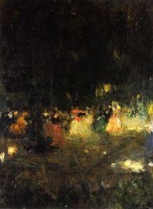 Dance in the Open Air - Alexei Jawlensky circa 1901
