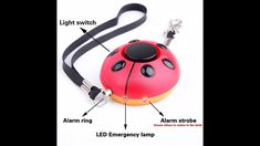 130Db New Emergency Personal Alarm Keychain/the Wolf Alarm/Elderly/ kids Tracker,Safety/Attack/Protection/ Panic/Self Defense Electronic Device,Good for Who Work At Night,as a Bag Decoration MANY USES. Fit for: Students, Jogger, Elderly, Kids, Women, Night workers. It's also a security necessary supply for traveling, hiking, camping and walking the dogs. The design and function is ideal for all ages #PanicAttackKids