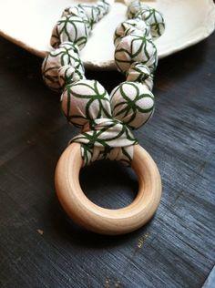 Nursing Necklace,Teething necklace, Babywearing Necklace,chew beads, Breastfeeding Necklace -style:Sary $18