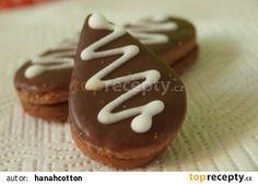 Mandlové slzičky recept - TopRecepty.cz Gingerbread Cookies, Gingerbread Cupcakes, Ginger Cookies