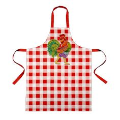 The Gingham Rooster apron from #Envelop, EU