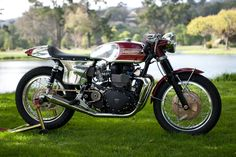 Many of us love Café Racers and especially the old Triumph Café Racers because they have always been a part of something very special. Description from caferacerstoday.tumblr.com. I searched for this on bing.com/images