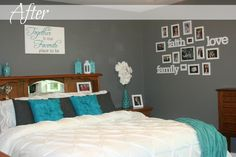 Living A Dream: Making Over Our Master Bedroom - After